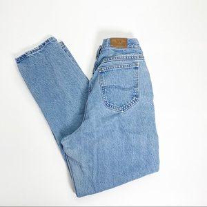 Vintage Lee Light Wash Straight Leg Jeans 31